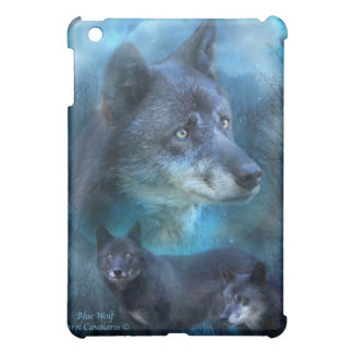 Blue Wolf Art Case for iPad Case For The iPad Mini