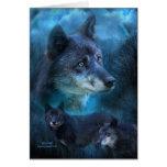 Blue Wolf ArtCard