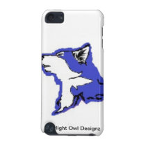 Blue Wolf Ipod Case