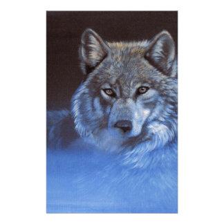 Blue Wolf Stationery