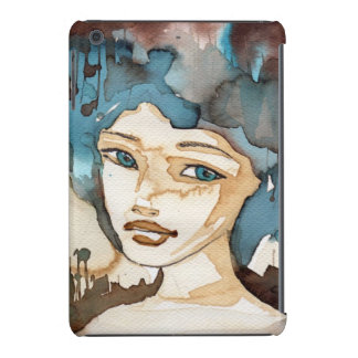 Blue Woman iPad Mini Retina Case