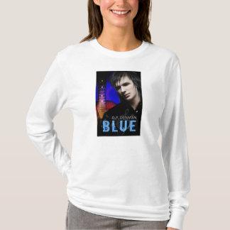 Blue Women's Long-Sleeve T-Shirt
