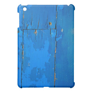 Blue Wood Case Case For The iPad Mini