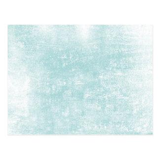 Blue Wood Grain Effect Postcard