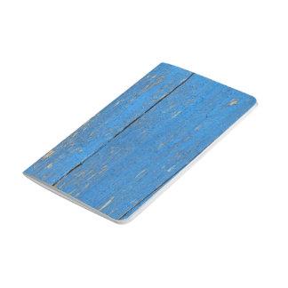 Blue wood pocket journal