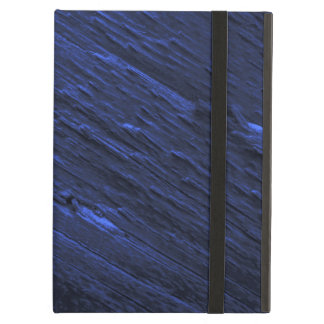 Blue Woodgrain iPad Case
