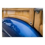 Blue Woody Reflections Greeting Card