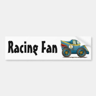 Blue World Manufactures Championship Car Bumper St Bumper Stickers
