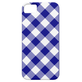 Blue Woven Plaid iPhone 5 Case
