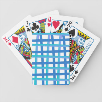 Blue Wrap Around Bicycle Playing Cards