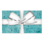 Blue Wrapped Gift Business Card