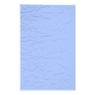 Blue Wrinkled Paper Stationery