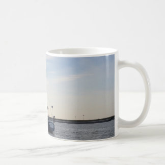 Blue Yacht Coffee Mug