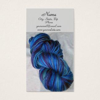 Blue Yarn Business Card