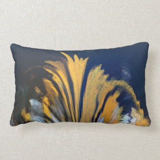 Blue & Yello Lumbar Pillow