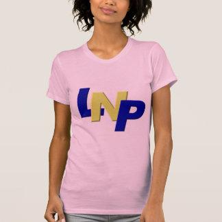 blue yellow blue LPN T-shirt