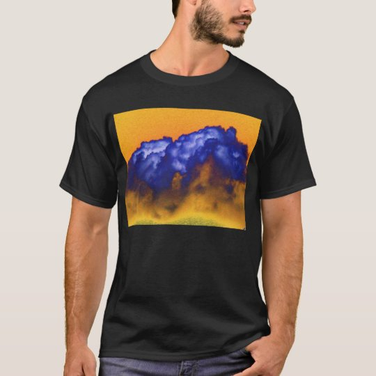Blue&Yellow Cumulus congestus and Yellow Sky by KL T-Shirt