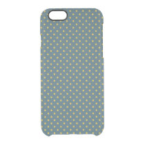 Blue/Yellow iPhone 6 Clearly™ Deflector Case