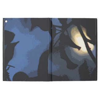Blue Yellow Mysterious Moon iPad Pro Case