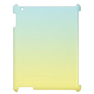 Blue & Yellow Ombre iPad Case