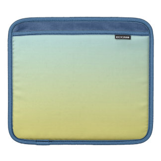 Blue & Yellow Ombre Sleeve For iPads