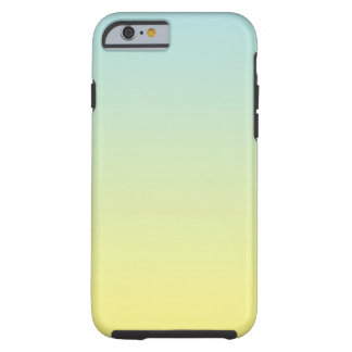 Blue & Yellow Ombre Tough iPhone 6 Case