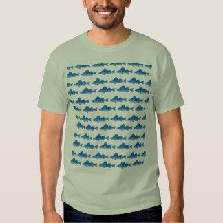 Blue Yellow Perch Shirts