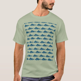 Blue Yellow Perch T-Shirt