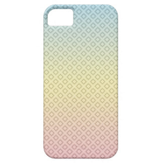 Blue Yellow Pink Pattern iPhone SE/5/5s Case