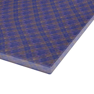 Blue & Yellow Squares Cutting Board