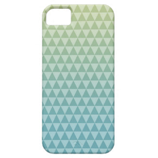 Blue Yellow Triangles iPhone 5 Case
