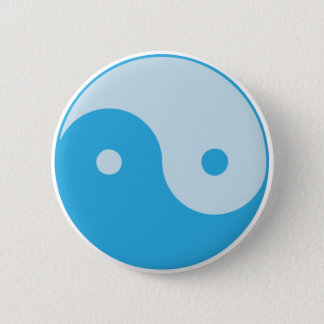 Blue Yin/Yang Button