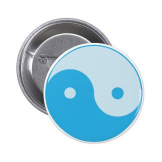Blue Yin/Yang Button