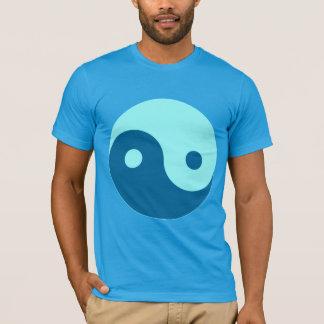 BLUE YIN YANG DESIGN T-Shirt