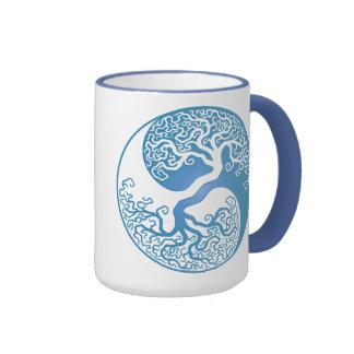 Blue Yin Yang Tree Mug