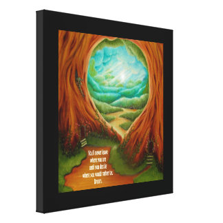 Blue Yonder Dream Stretched Canvas