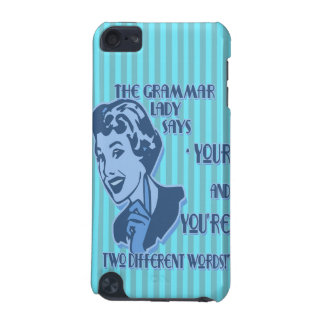 Blue Your and You're iPod Touch Speck Case