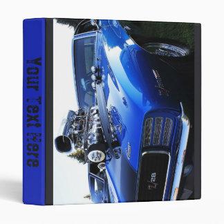 Blue Z28 3 Ring Binder