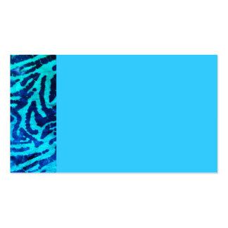 Blue Zebra Business Card
