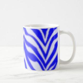 Blue Zebra Coffee Mug