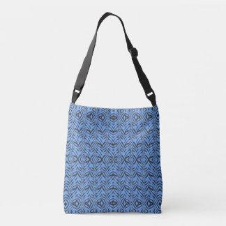 Blue Zebra - Crossbody Bag