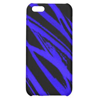 blue zebra iPhone 5C cover