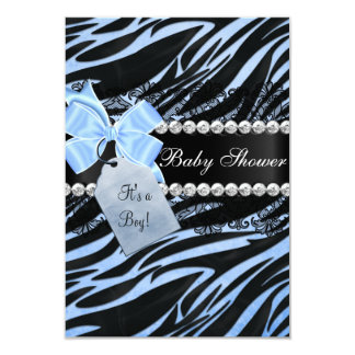 zebra print baby shower invitations  announcements  zazzle, Baby shower invitations