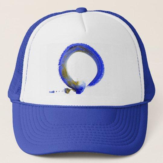 Blue Zen Enso Trucker Hat