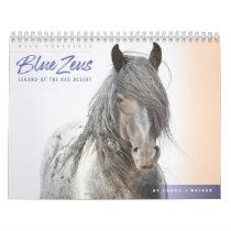 Blue Zeus Wild Horse Calendar
