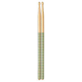 Blue Zig Zag Drumsticks