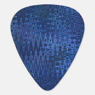 Blue ZigZag Guitar Pick