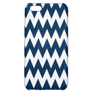 Blue Zigzag iphone 5 case