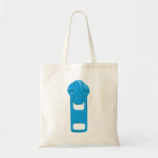 Blue Zipper Bag