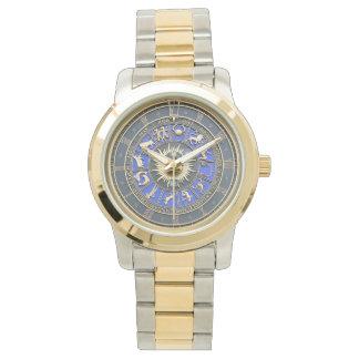 Blue Zodiac Wheel Watches